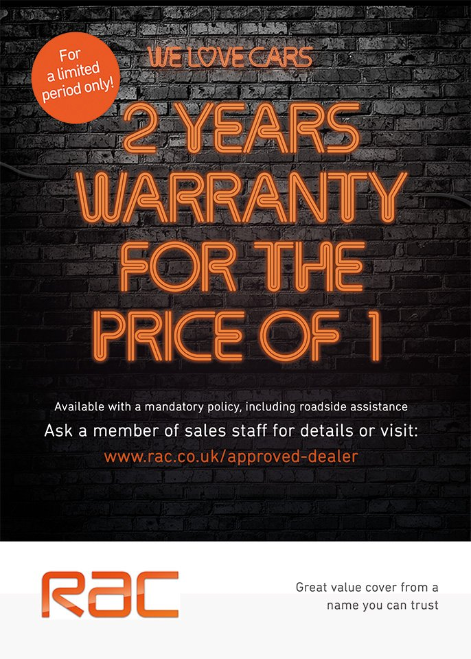 RAC - 24 months warranty for 12